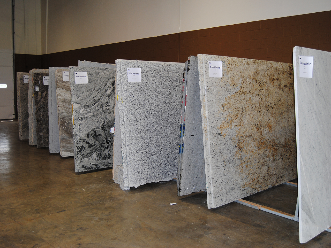 Select Your Own Slab From